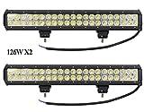 Leetop 2X 126W IP67 CREE LED...
