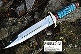 coltello da caccia a mano con...